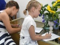 014 Olga Belash-Karasjova isikunäituse avamine Sindi muuseumis. Foto: Urmas Saard