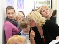017 Olga Belash-Karasjova isikunäituse avamine Sindi muuseumis. Foto: Urmas Saard