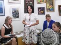018 Olga Belash-Karasjova isikunäituse avamine Sindi muuseumis. Foto: Urmas Saard
