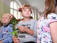 010 Õpetajate päeva tähistamine Sindi gümnaasiumis. Foto: Urmas Saard