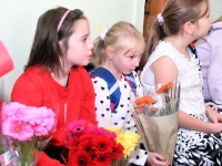 011 Õpetajate päeva tähistamine Sindi gümnaasiumis. Foto: Urmas Saard