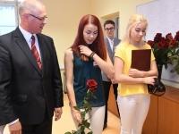 028 Õpetajate päeva tähistamine Sindi gümnaasiumis. Foto: Urmas Saard