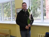 032 Õpetajate päeva tähistamine Sindi gümnaasiumis. Foto: Urmas Saard