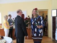 034 Õpetajate päeva tähistamine Sindi gümnaasiumis. Foto: Urmas Saard