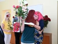 036 Õpetajate päeva tähistamine Sindi gümnaasiumis. Foto: Urmas Saard