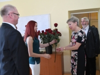 037 Õpetajate päeva tähistamine Sindi gümnaasiumis. Foto: Urmas Saard