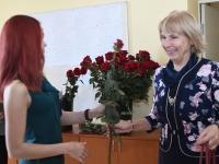 040 Õpetajate päeva tähistamine Sindi gümnaasiumis. Foto: Urmas Saard