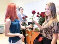 046 Õpetajate päeva tähistamine Sindi gümnaasiumis. Foto: Urmas Saard