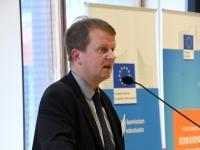 018 Osalemine Euroopa Komisjoni korraldatud Turu seminaril. Foto: Urmas Saard