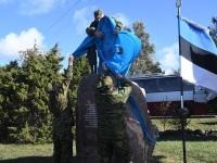 002 Paadipõgenike mälestuseks kuju avamine Puise ninal. Foto: Urmas Saard / Külauudised