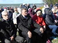 012 Paadipõgenike mälestuseks kuju avamine Puise ninal. Foto: Urmas Saard / Külauudised