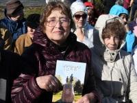 013 Paadipõgenike mälestuseks kuju avamine Puise ninal. Foto: Urmas Saard / Külauudised