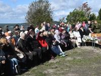 017 Paadipõgenike mälestuseks kuju avamine Puise ninal. Foto: Urmas Saard / Külauudised