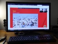 Päästeameti vabatahtlikud Kristi Kais ja Merilin Aaslaid räägivad veebiloengus veeohutusest. Foto: Urmas Saard / Külauudised
