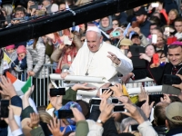 082 Paavst Franciscus Tallinnas. Foto: Urmas Saard