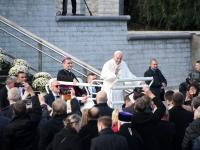 085 Paavst Franciscus Tallinnas. Foto: Urmas Saard
