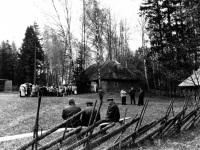 Paduvere muuseumi ajaloopäev 1995. Foto: Paduvere muuseumi kogu