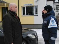 003 Paikusel avati politsei- ja piirivalvekolledži lasketiir. Foto: Urmas Saard