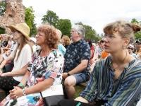 XXVIII Viljandi Pärimusmuusika festivali avamise ajal. Foto Urmas Saard Külauudised