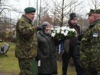 001 Pärnu Alevi kalmistul 102 aastat pärast Vabadussõja algust. Foto: Urmas Saard / Külauudised