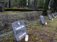 013Pärnu Alevi kalmistul 102 aastat pärast Vabadussõja algust. Foto: Urmas Saard / Külauudised
