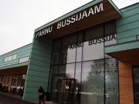 002 Pärnu bussijaam vahetult enne sõbrapäeva. Foto: Urmas Saard