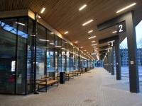004 Pärnu bussijaama ametliku avamise päev. Foto: Urmas Saard