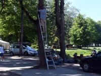 001 Pärnu Hansapäevade ettevalmistus. Foto: Urmas Saard