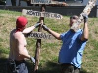 002 Pärnu Hansapäevade ettevalmistus. Foto: Urmas Saard