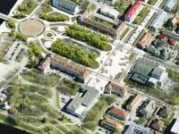 """""""Myydimeri"""" arhitektuurivõistluse ala pealtvaade"""
