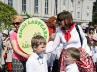 002 Pärnu koolieelsete laste laulupidu. Foto: Urmas Saard