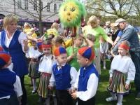 003 Pärnu koolieelsete laste laulupidu. Foto: Urmas Saard