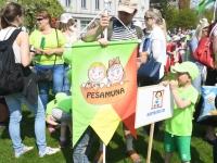 006 Pärnu koolieelsete laste laulupidu. Foto: Urmas Saard