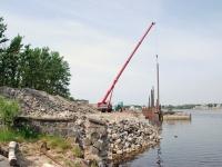 003 Pärnu kruiisisadama ehitus. Foto: Urmas Saard