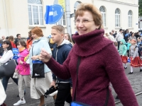 014 Pärnu linn XII noorte laulupeo rongkäigus. Foto: Urmas Saard