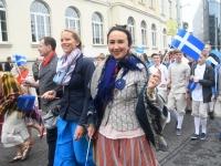 037 Pärnu linn XII noorte laulupeo rongkäigus. Foto: Urmas Saard