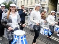 047 Pärnu linn XII noorte laulupeo rongkäigus. Foto: Urmas Saard