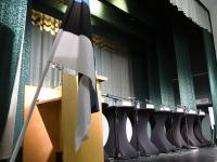 Pärnu linnapea kandidaatide vaheline väitlus Pärnu Tervise keskuse konverentsisaalis. Foto: Urmas Saard / Külauudised