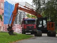 1 Pärnu mnt 27a renoveerimise alustamine. Foto: Urmas Saard / Külauudised