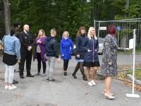 2 Pärnu mnt 27a renoveerimise alustamine. Foto: Urmas Saard / Külauudised