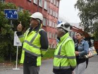 12 Pärnu mnt 27a renoveerimise alustamine. Foto: Urmas Saard / Külauudised