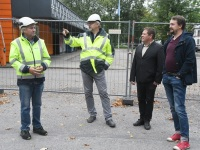 16 Pärnu mnt 27a renoveerimise alustamine. Foto: Urmas Saard / Külauudised