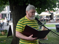 007 Jaak Känd Pärnu Nullpunktis. Foto: Urmas Saard