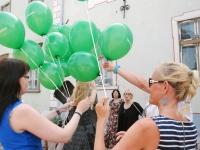 001 Pärnu Postimehe rahval ja lugejatel oli ühine pidupäev. Foto: Urmas Saard