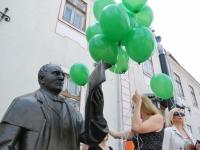 002 Pärnu Postimehe rahval ja lugejatel oli ühine pidupäev. Foto: Urmas Saard
