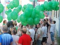 006 Pärnu Postimehe rahval ja lugejatel oli ühine pidupäev. Foto: Urmas Saard