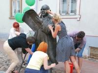 014 Pärnu Postimehe rahval ja lugejatel oli ühine pidupäev. Foto: Urmas Saard