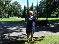 006 Pärnu rannapiirkonna terviserajalt eemaldatud tähis. Foto: Urmas Saard / Külauudised