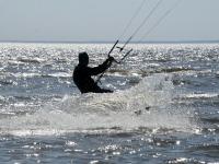 Pärnu rannas on juba suve tunda. Foto: Urmas Saard / Külauudised