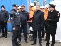 014 Pärnu sisejulgeoleku ühishoonele nurgakivi panek. Foto: Urmas Saard
